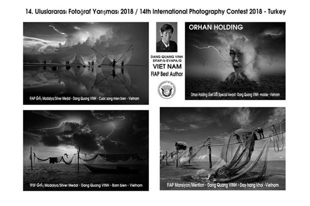 Fotografos vietnamitas obtienen 12 premios en concurso internacional en Turquia hinh anh 1