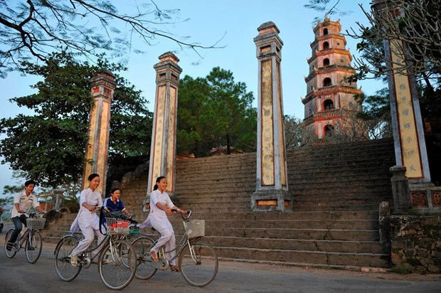 Fotografo frances captura la belleza de pagodas vietnamitas hinh anh 1