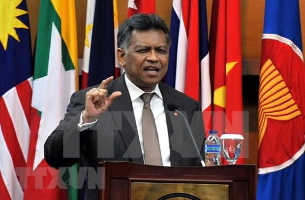 Resaltan en Indonesia vida y obra de exsecretario general de ASEAN hinh anh 1
