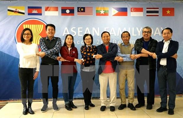 Por primera vez celebra Dia de la Familia de la ASEAN en Rusia hinh anh 1