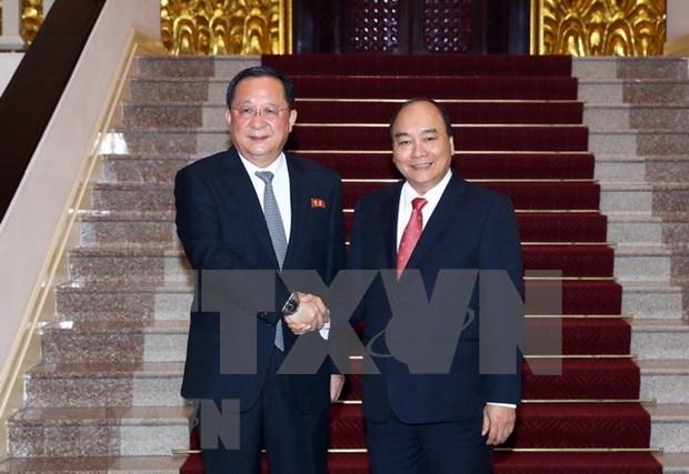 Vietnam y RPDC acuerdan desarrollar nexos, dice agencia noticiosa norcoreana hinh anh 1
