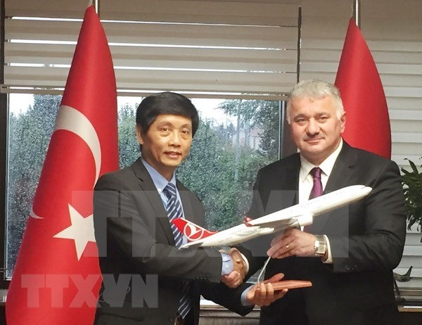 Vietnam promueve sus potencialidades en Turquia a fin de atraer inversiones hinh anh 1