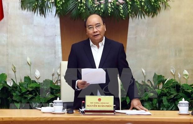 Reunion ordinaria del Gobierno vietnamita analiza situacion socioeconomica en 11 meses hinh anh 1