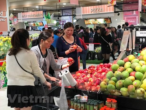 Crecen exportaciones de frutas y verduras vietnamitas en lo que va de ano hinh anh 1