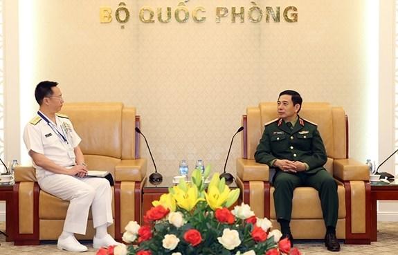 Vietnam y Japon fortalecen relaciones en defensa hinh anh 1
