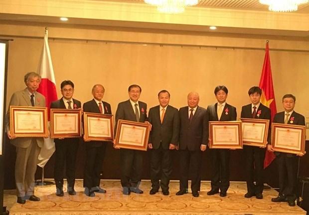 Centro de salud de Japon recibe Orden de Trabajo de Vietnam hinh anh 1
