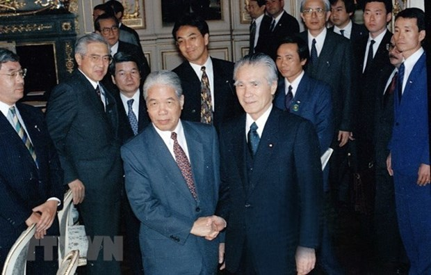 Japon honra al extinto secretario general del Partido Comunista de Vietnam hinh anh 1