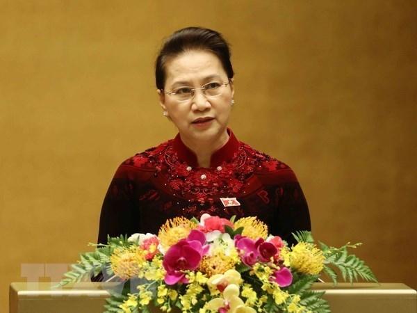 Dirigente parlamentaria de Vietnam viaja a Corea del Sur para visita oficial hinh anh 1