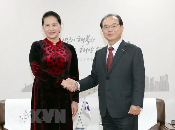 Vietnam atesora lazos con Corea del Sur, afirma maxima legisladora hinh anh 1