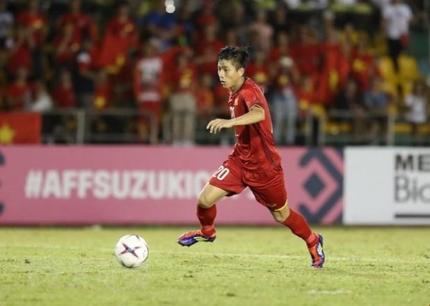 Jugador vietnamita entre los cinco mejores despues de semifinales de ida de Copa AFF Suzuki hinh anh 1