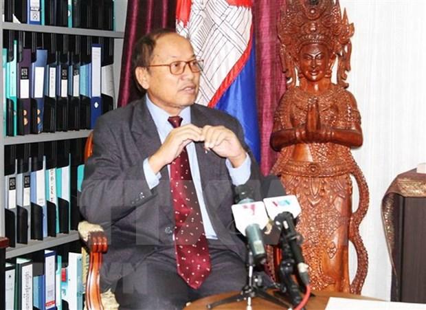 Relaciones Camboya- Vietnam son ejemplo de amistad, destaca Ministro hinh anh 1