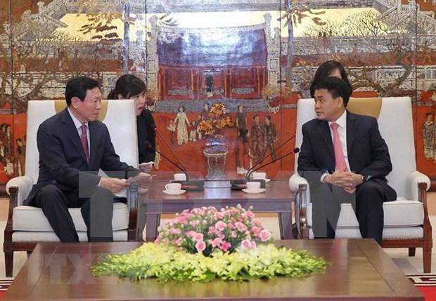 Solicitan al grupo surcoreano Lotte aumentar operacion en Hanoi hinh anh 1