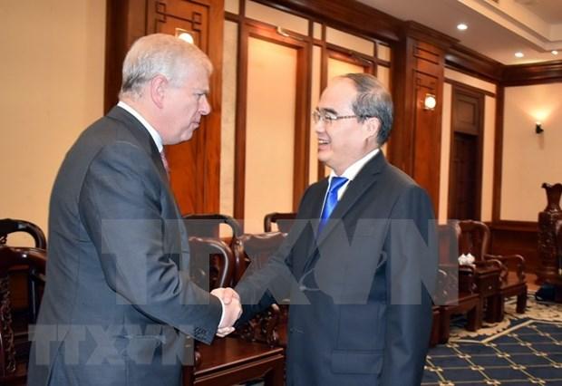 Ciudad Ho Chi Minh fortalece colaboracion con Reino Unido hinh anh 1
