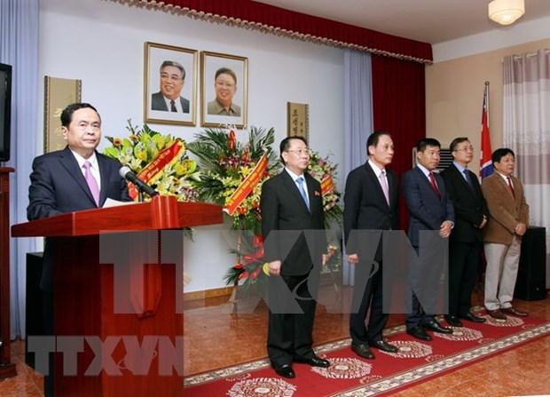 Embajada norcoreana conmemora visita de Kim Il Sung a Vietnam hinh anh 1