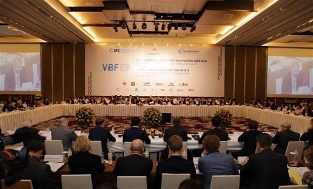 Ciberseguridad atrae atencion de empresarios extranjeros en foro en Vietnam hinh anh 1