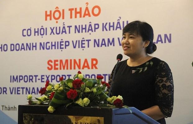 Debaten en Ciudad Ho Chi Minh oportunidades de exportacion para empresas vietnamitas y polacas hinh anh 1