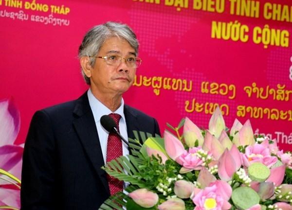 Localidades de Vietnam y Laos promueven inversiones hinh anh 1