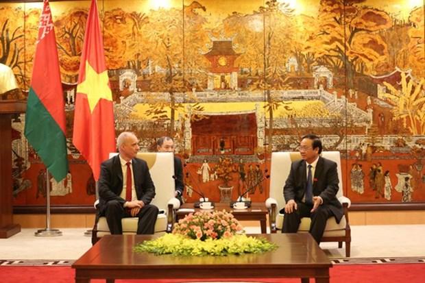 Hanoi y Minsk trabajan para firmar un pacto de cooperacion para 2019 - 2020 hinh anh 1