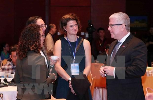 Destacan contribuciones de voluntarios australianos al desarrollo de Vietnam hinh anh 1