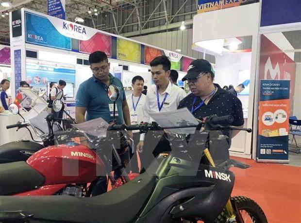 Promueven conexion comercial en feria y exposicion industriales en Ciudad Ho Chi Minh hinh anh 1