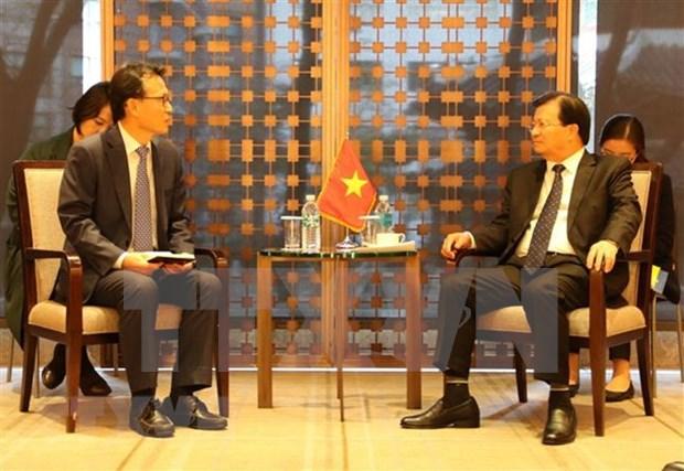 Resaltan aportes de organizaciones de Corea del Sur a impulso de lazos con Vietnam hinh anh 1