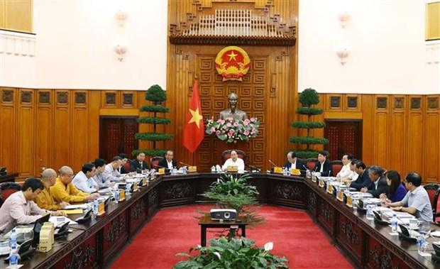 Vietnam se enfrasca en preparativos del Dia de Vesak de las Naciones Unidas en 2019 hinh anh 1