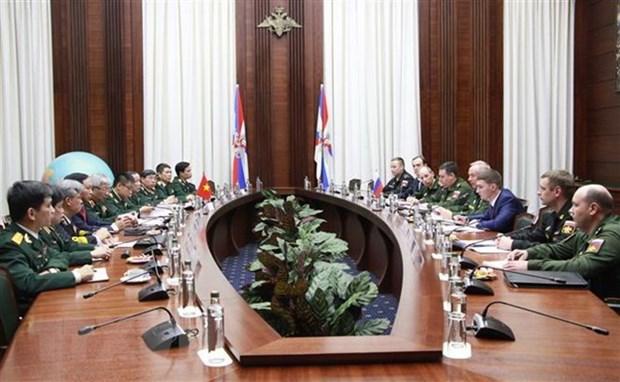 Vietnam y Rusia realizan cuarto dialogo estrategico de defensa hinh anh 1