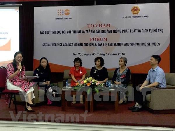 Debaten en Vietnam medidas destinadas a intensificar lucha contra violencia de genero hinh anh 1