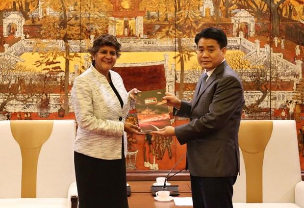 Destacan promocion de imagen de Hanoi en canal televisivo CNN hinh anh 1
