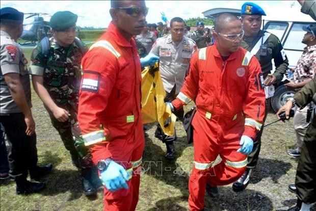 Hallan cuerpos de trabajadores muertos en ataque de separatistas en Indonesia hinh anh 1