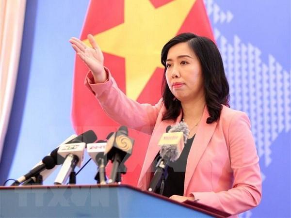 Vietnam sigue trabajando para garantizar derechos humanos, afirma portavoz de Cancilleria hinh anh 1