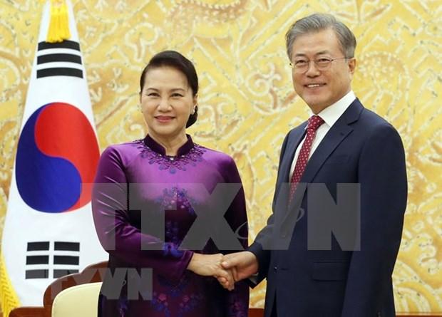 Vietnam y Corea del Sur patentizan atencion en fortalecer lazos multifaceticos hinh anh 1