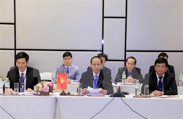Refuerzan cooperacion entre Vietnam, Laos y Camboya en lucha antidrogas hinh anh 1