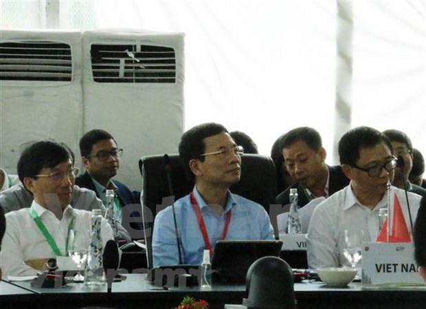 Destacan propuesta de Vietnam en Reunion de Ministros de Telecomunicaciones de ASEAN hinh anh 1