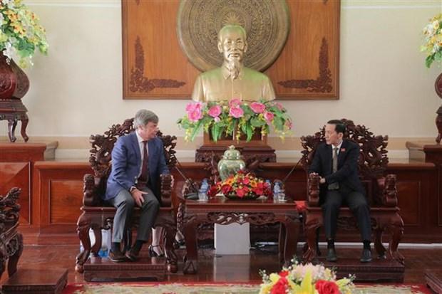 Debaten potencialidades para la cooperacion entre Argentina y ciudad vietnamita de Can Tho hinh anh 1
