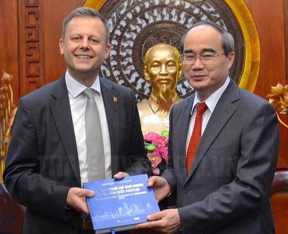Ciudad Ho Chi Minh aspira a una mayor cooperacion con urbe alemana de Leipzig hinh anh 1