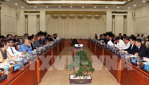 Estados Unidos desea ofrecer asistencia a Ciudad Ho Chi Minh en construccion de transporte inteligente hinh anh 1