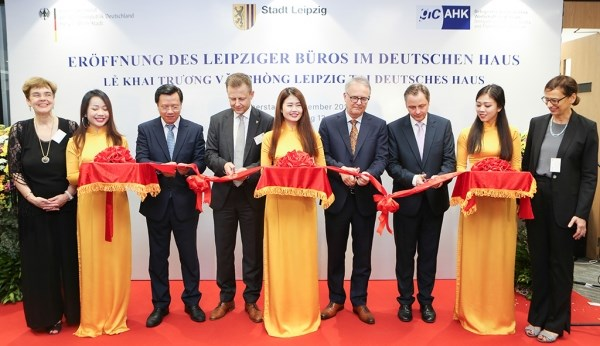 Ciudad alemana de Leipzig abre oficina de representacion en Vietnam hinh anh 1