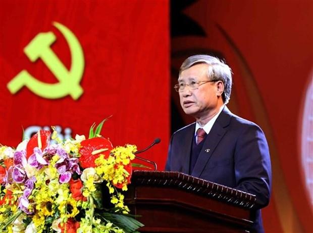 Mas de mil 800 obras compiten en concurso sobre fortalecimiento del Partido en Vietnam hinh anh 1