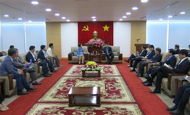 Empresas surcoreanas estudian oportunidades de cooperacion e inversion con provincia vietnamita hinh anh 1