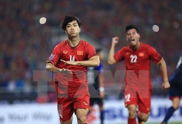 Copa AFF Suzuki 2018: prensa asiatica resalta victoria del equipo vietnamita hinh anh 1