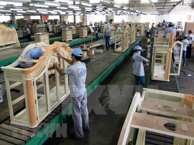 Vietnam por convertirse en segundo mayor productor de muebles en el mundo hinh anh 1