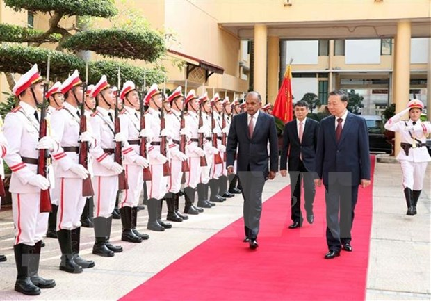 Vietnam y Singapur prorrogan acuerdo de cooperacion en prevencion de delincuencia hinh anh 1