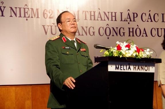 Ejercito Popular de Vietnam fortalece solidaridad con Fuerzas Armadas de Cuba hinh anh 1