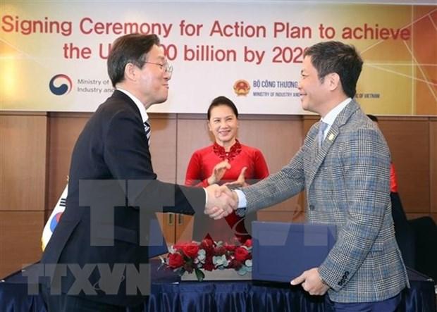 Visita de dirigente legislativa de Vietnam a Corea del Sur, marcador de relaciones bilaterales hinh anh 1