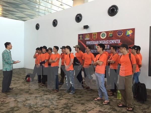 Indonesia libera a pescadores vietnamitas hinh anh 1