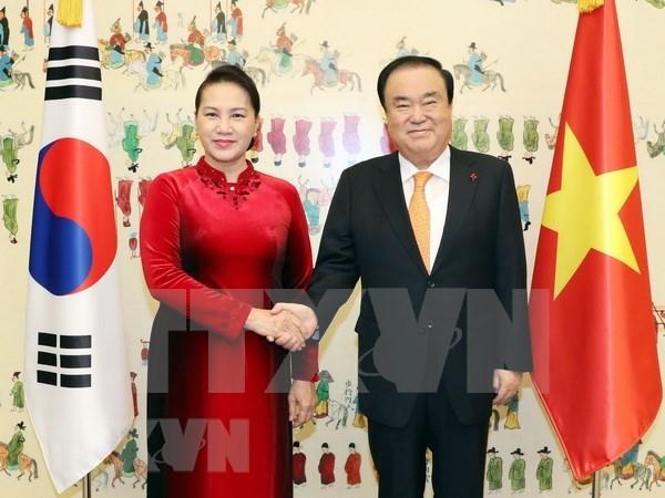 Presidenta parlamentaria concluye su visita oficial a Corea del Sur hinh anh 1