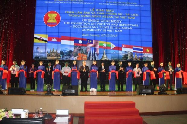 Abren en provincia vietnamita de Binh Duong exposicion sobre Comunidad de ASEAN hinh anh 1