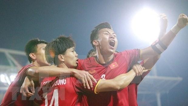 Premier vietnamita alienta a futbolistas para mejor actuacion en la final de Copa AFF Suzuki hinh anh 1