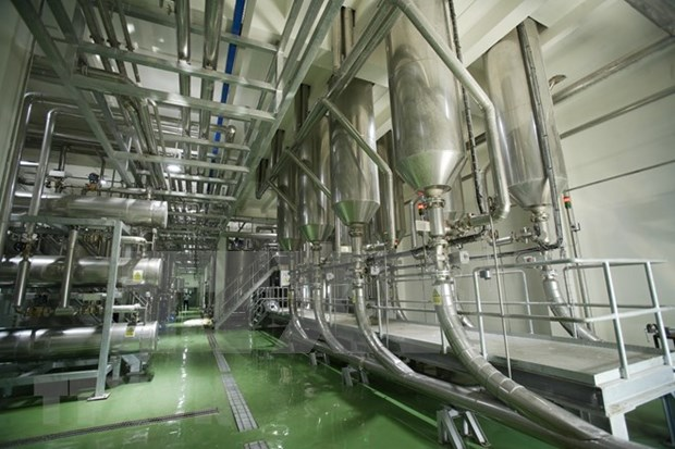 Inauguran mayor fabrica de procesamiento de cafe en Vietnam hinh anh 1